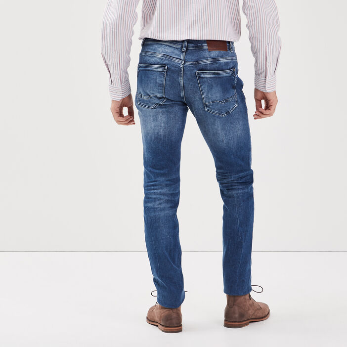 Jeans slim ultra stretch denim double stone homme