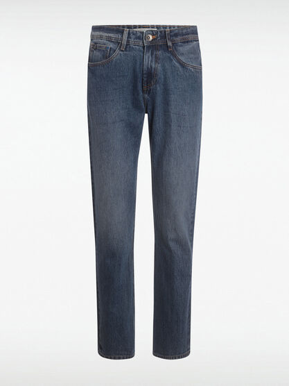 Jean regular coton bio denim stone homme
