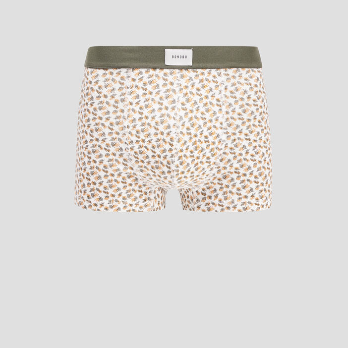 Boxer blanc homme