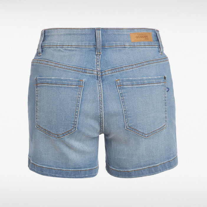 Short ajusté Instinct denim used femme