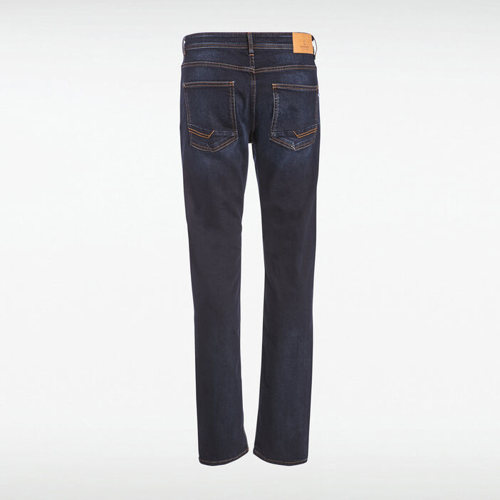 Jeans éco-responsable regular denim brut homme